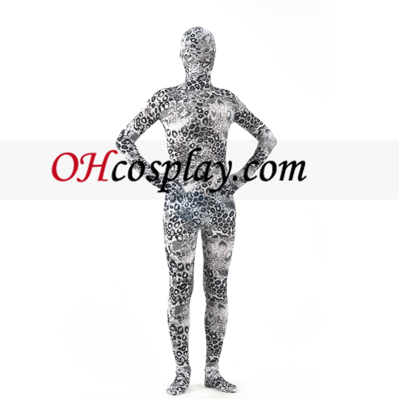 Flower Pattern Lycra Zentai Suit