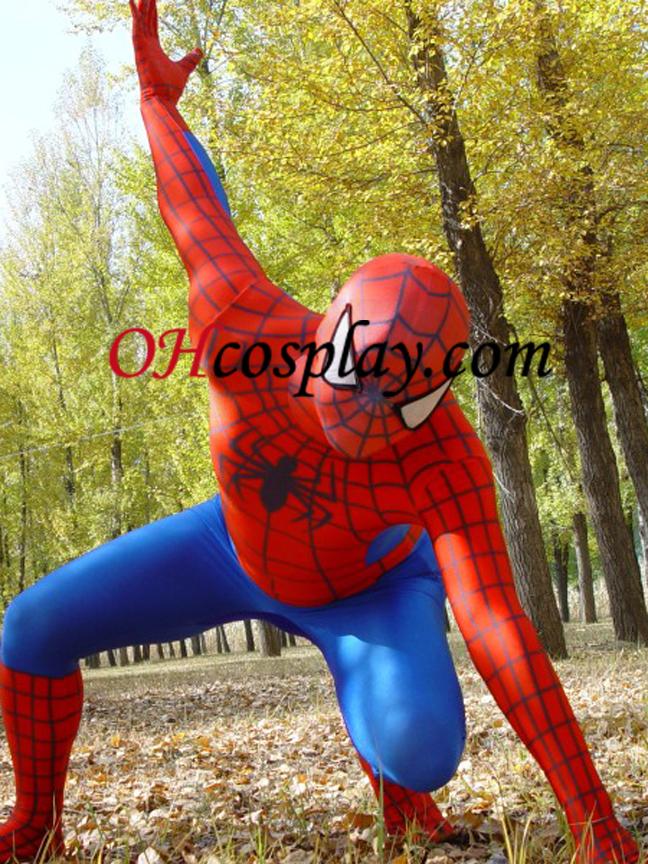 חליפת הלייקרה Spideman Superhero מערער