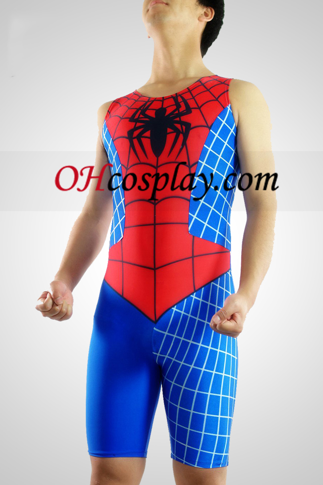 Spideman Lycra ermer Gymnasium Suit