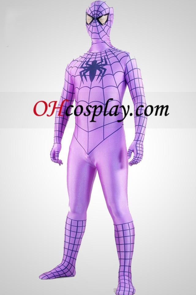 Cran Spiderman Superheor Zentai Suit