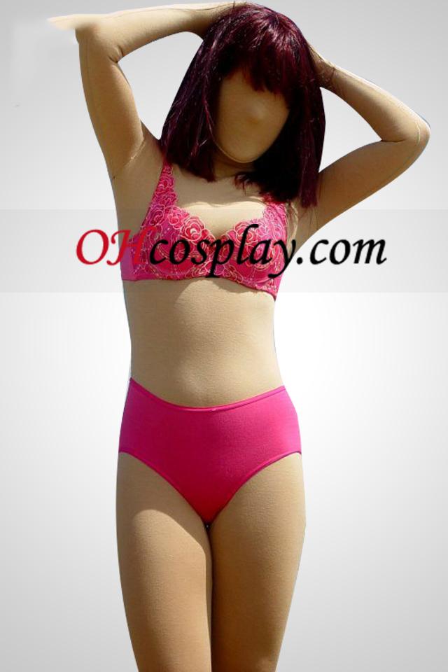 Nu Suit Fleshcolor coton Lycra Spandex unisexe Zentai