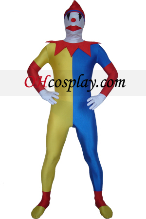 Clown Spandex Lycra Zentai Suit
