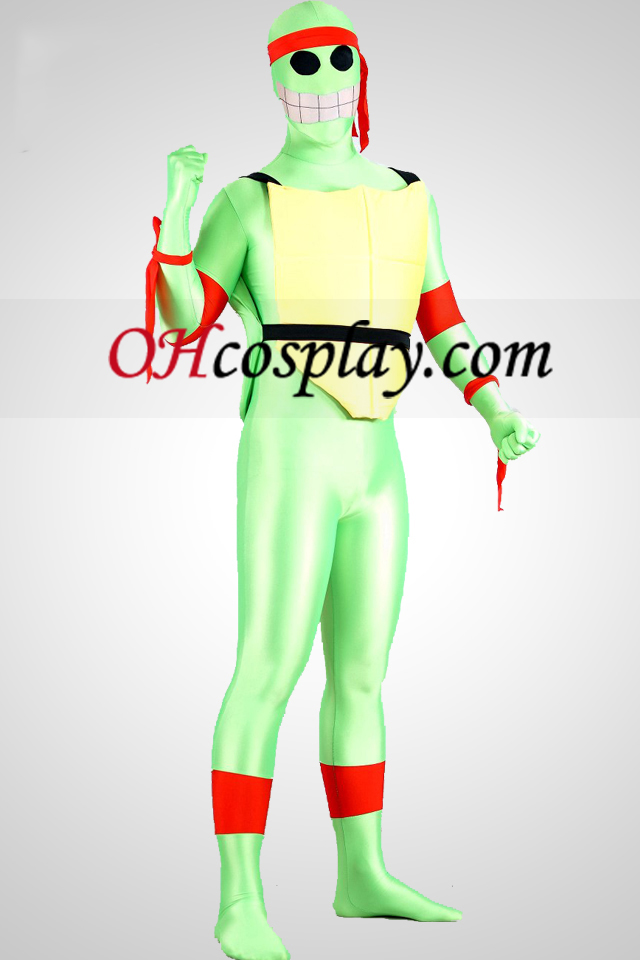 Teenage Mutant Ninja Turtles Lycra Spandex Superhero Зентай Suit