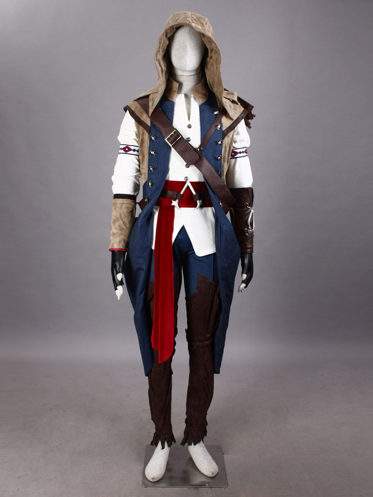 Assassin's Creed III Connor Kenway Costumes - Cosplay Deluxe