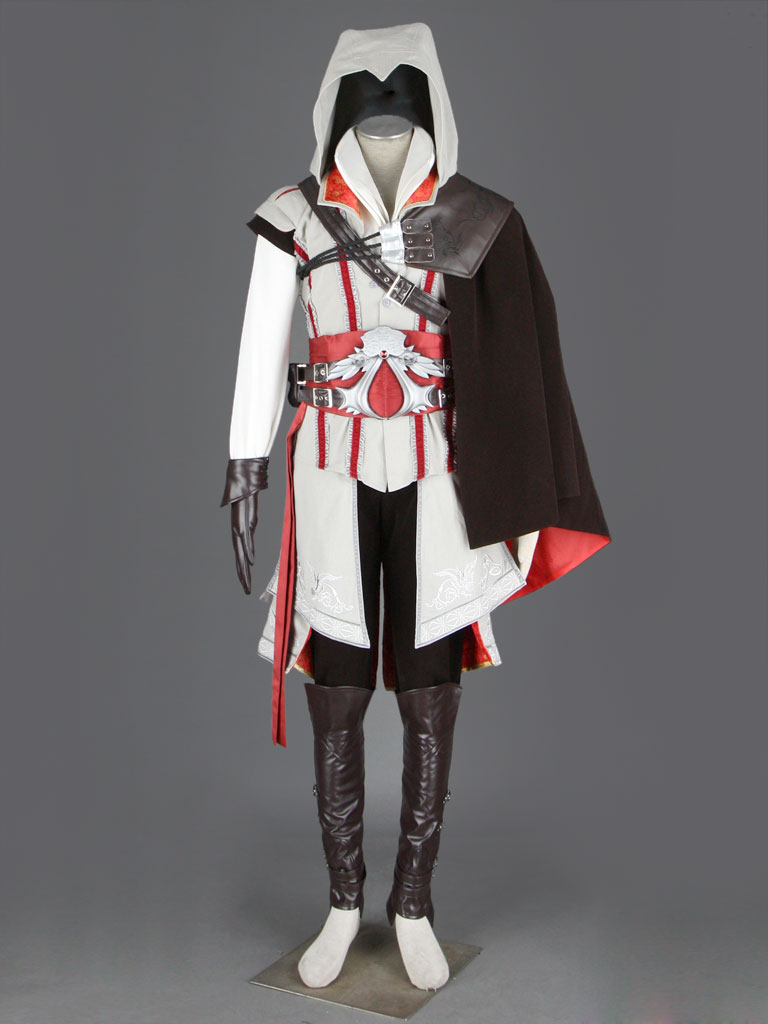 Assassin's Creed II Ezio Costumes (White) - Cosplay Deluxe