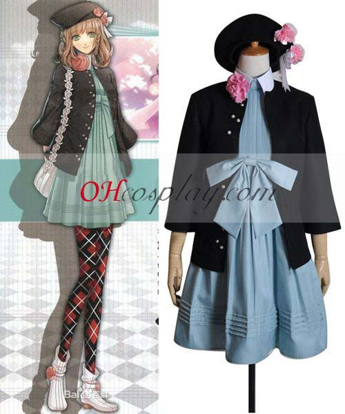 Amnesia the Dark Decent Costumes Heroine Dress Cosplay Costume