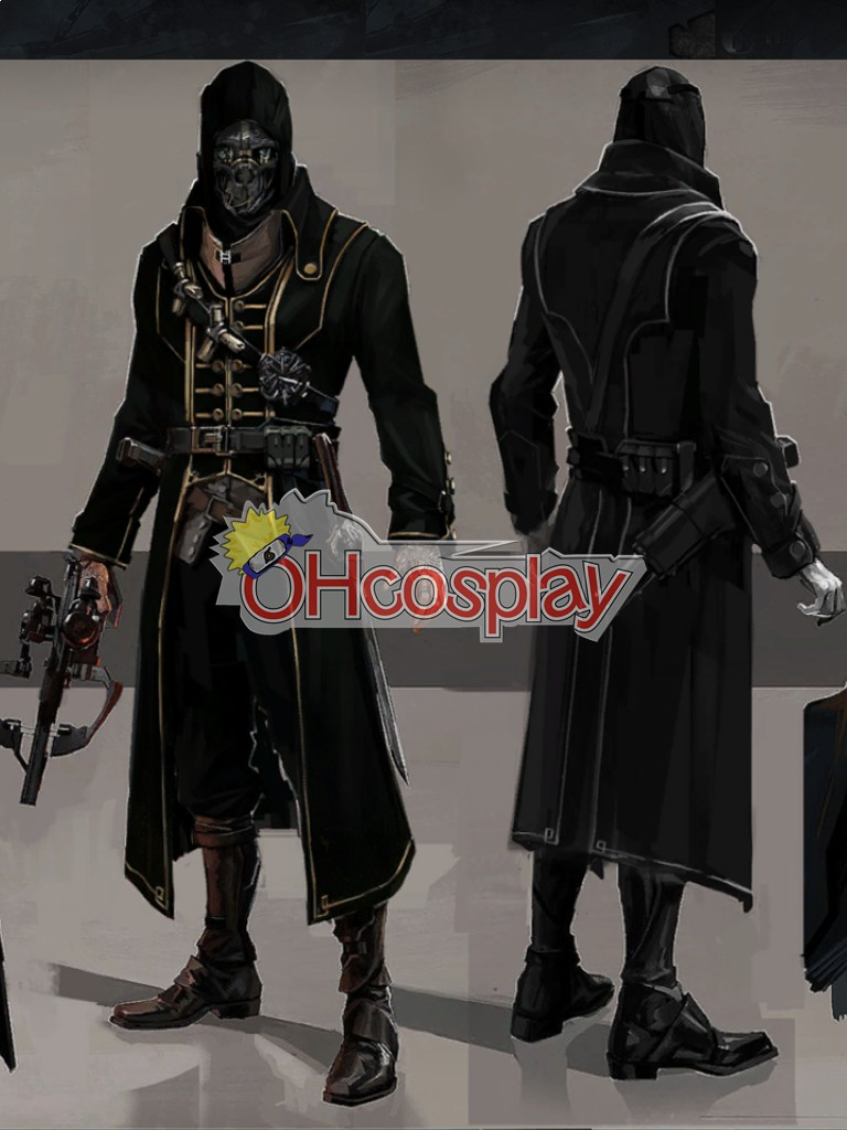 Dishonored Corvo Full Set Cosplay Wiene
