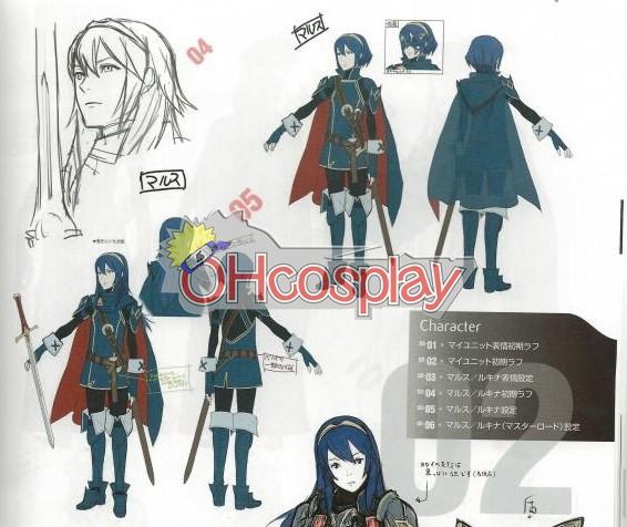 Fire Emblem: Awakening Lucina udklædning Fastelavn Kostumer