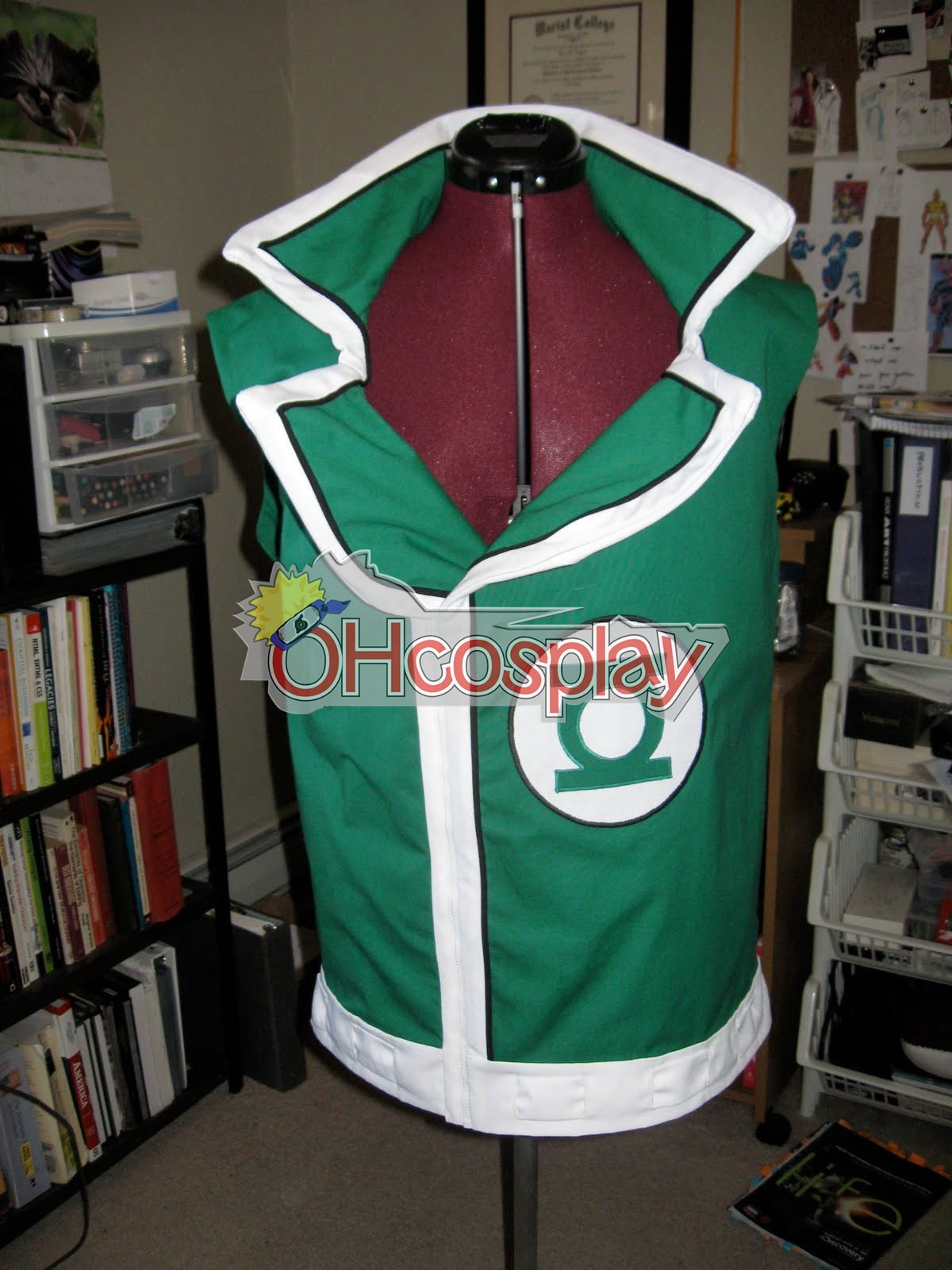 Guy Gardner Green Lantern Vest Cosplay Costume [CA01040 ...