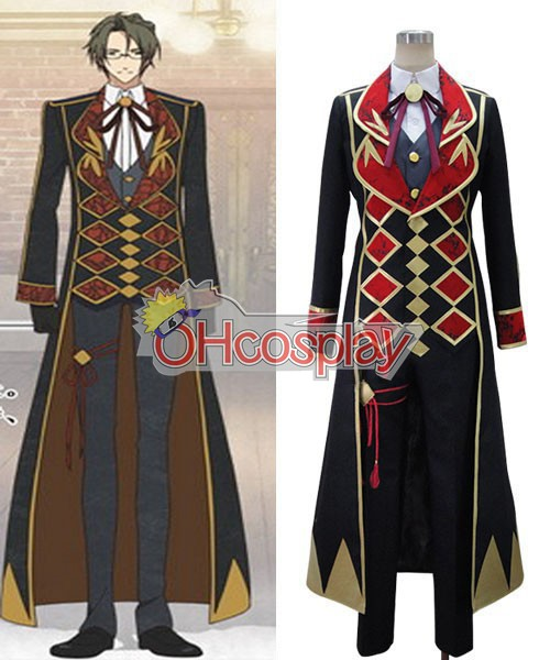 Amnesia Costume Waka Working Uniform Cosplay Costume