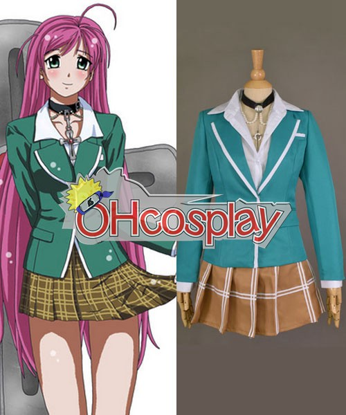 Rosario + Vampire Cosplay Akashiya Moka School Uniform Cosplay Costume