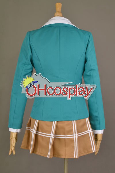 Rosario + Vampire костюми Akashiya Moka School Uniform Cosplay костюми
