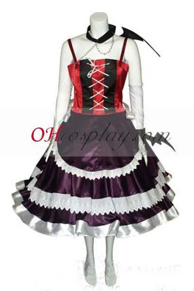 Rosario + Vampire костюми Moka Vampire Dress Cosplay костюми