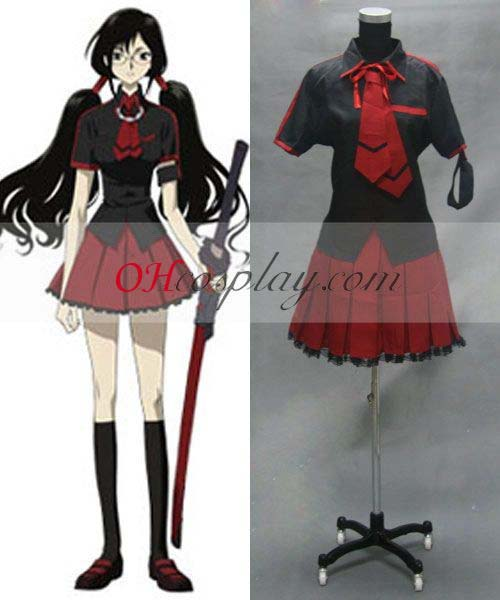 Blood C Saya Kisaragi Cosplay Costume