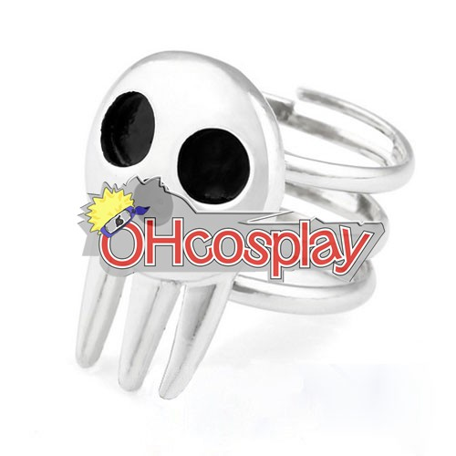 Soul Eater Karneval Kläder Death the Kid Cosplay Ring