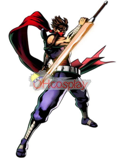 Strider Hiryu Cosplay Costume ESH0001