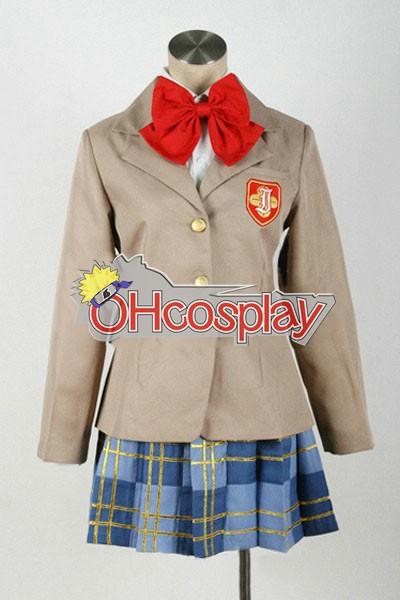 Toaru Kagaku не Railgun костюми Misaka Микото Зимни Uniform Cosplay костюми