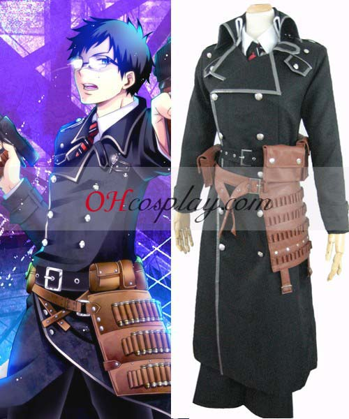 Ao no Exorcist Karneval Kläder Yukio Okumura Battle Weapons Belt Cosplay Karneval Kläder