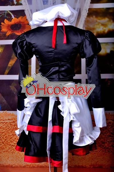 Umineko не Naku Коро Ni костюми Shannon прислужница косплей костюм