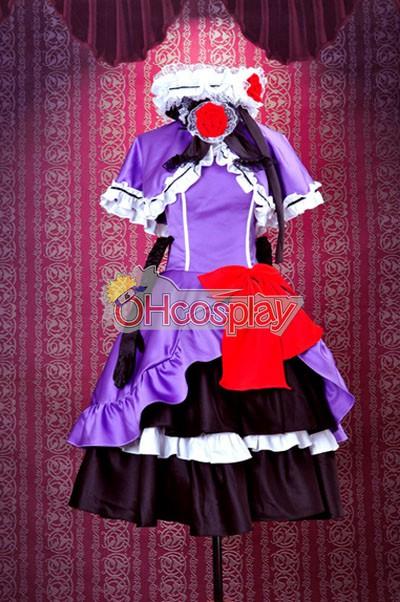 Umineko no Naku Koro ni Costumes Eva Beatrice Lolita Cosplay Costume