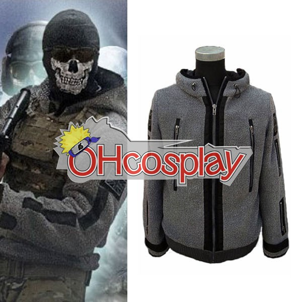 Call of Duty 6 TF-141 Ghost Jacket Cosplay Puku