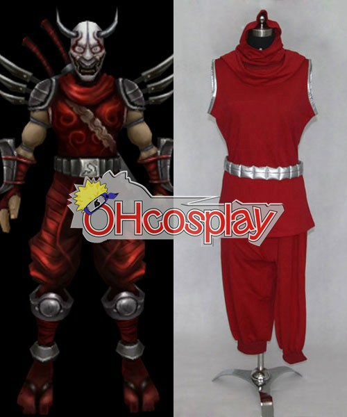 League of Legends Kostuums Blood Moon Shen Cosplay Kostuums