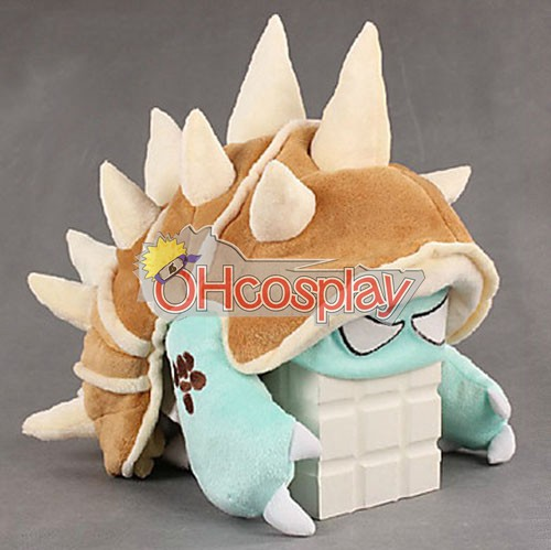 League of Legends Karneval Kläder Dragon Turtle Rammus Hat
