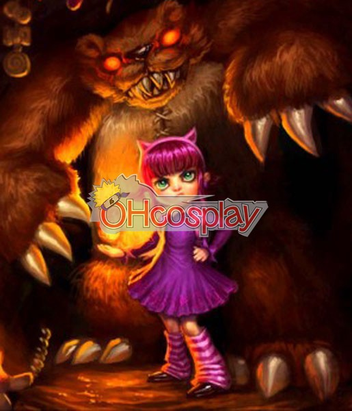 Disfraces League of Legends Annie original Cosplay Costume Piel