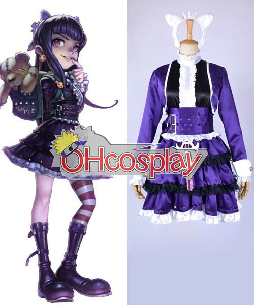 Disfraces League of Legends Annie Goth Cosplay del traje de la piel