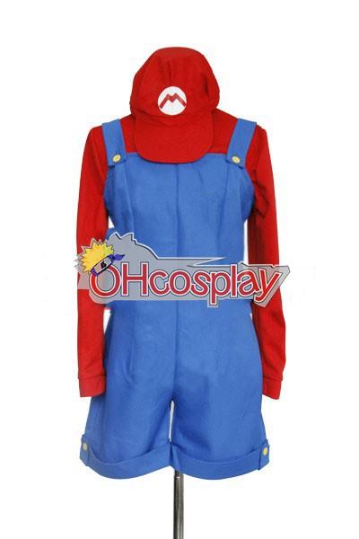 Super Mario Bros костюми Женски Mario Cosplay костюми