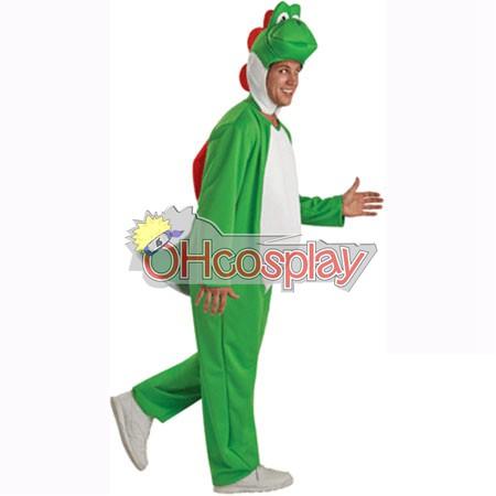 Super Mario Bros костюми Йоши Adult Cosplay костюми