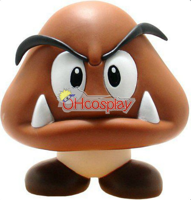 Super Mario Κοστούμια Bros Poisonous Mushroom Model Doll