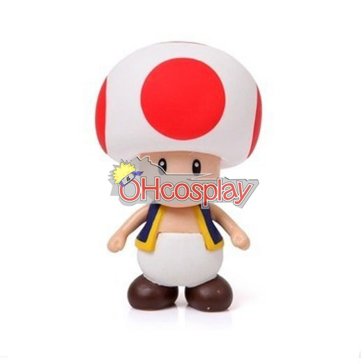 Super Mario Costumes Bros Mushroom Prince Model Doll