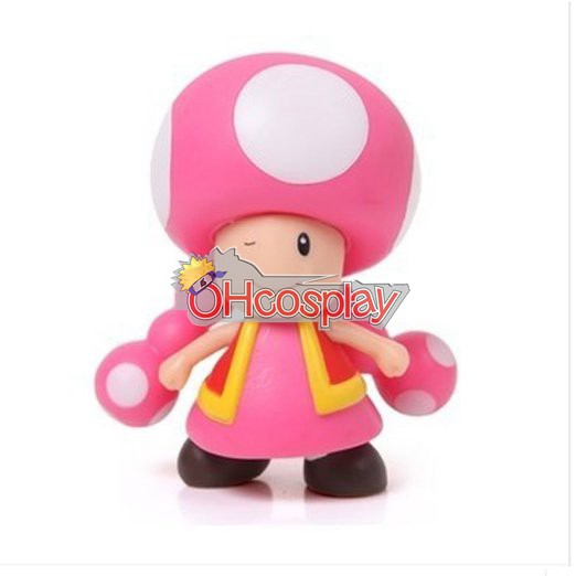 Super Mario Κοστούμια Bros Mushroom Princess Model Doll
