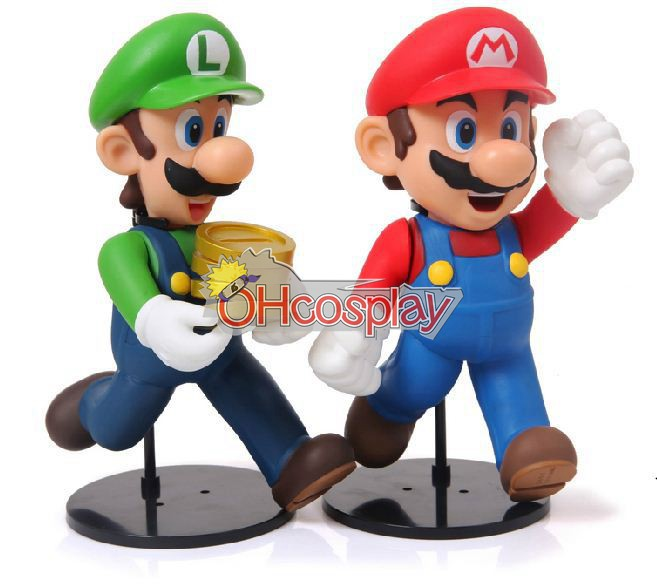 Super Mario Costumes Bros Mario Model Doll