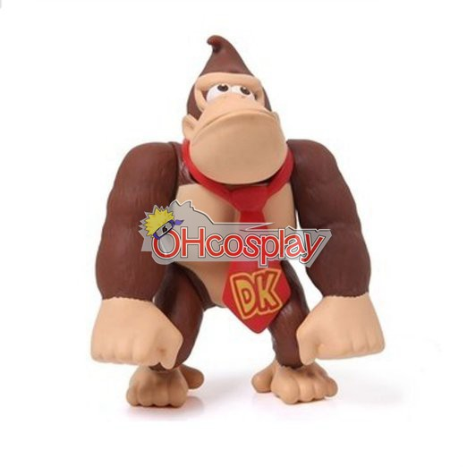 Super Mario Κοστούμια Bros Gorilla Model Doll