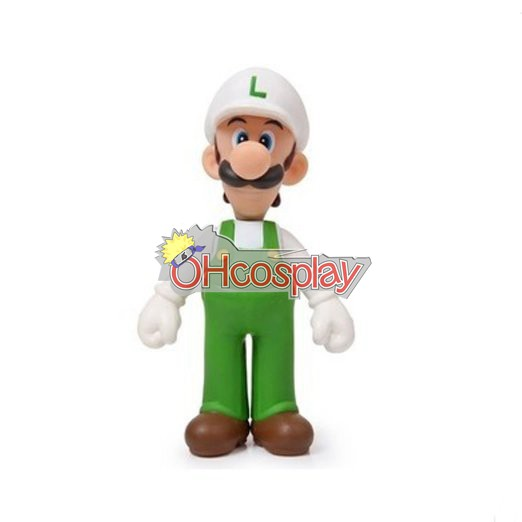 Super Mario Kostymer Bros White Louis Model Doll