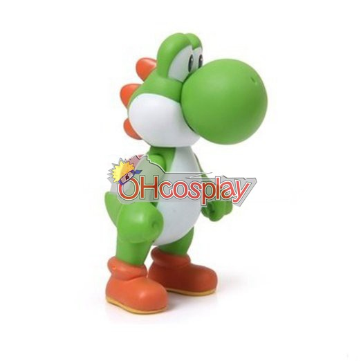 Costumi Carnevale Super Mario Bros Green Dinosaur Model Doll