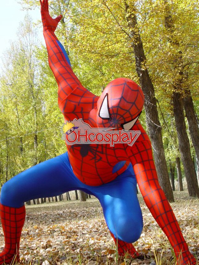 Costumi Carnevale Marvel Spiderman Classic Suit Cosplay Costume