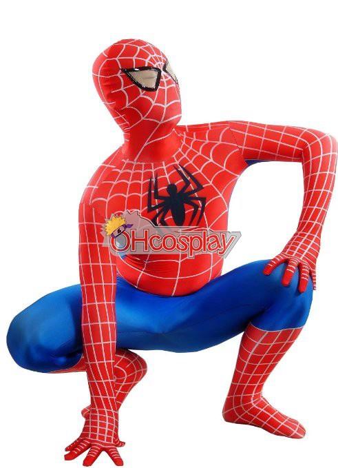 Marvel Costumes Spiderman Classic Suit Cosplay Costume