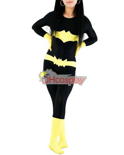 DC Batgirl Casual Wear Cosplay Kostymer