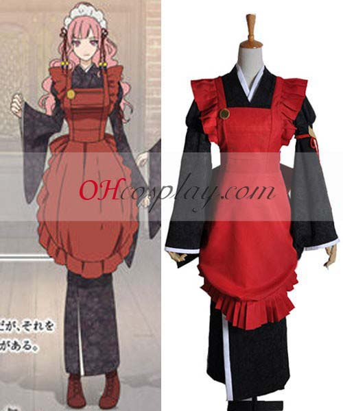 Amnesia Costume Sawa Mine Working Cosplay Costume
