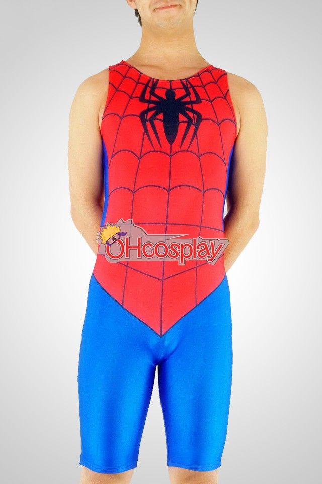 Marvel Kostymer Spiderman Exercise Wear Cosplay Kostymer
