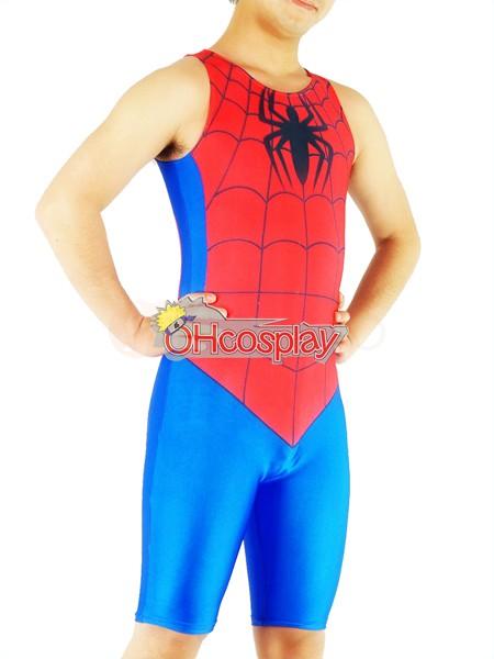 Marvel Fastelavn Kostumer Spiderman Exercise Wear udklædning Fastelavn Kostumer