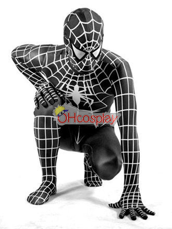 Disfraces Marvel Spiderman Negro Traje Cosplay