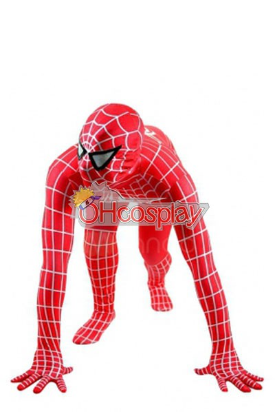 Марвел костюми Spiderman червен костюм Cosplay костюми