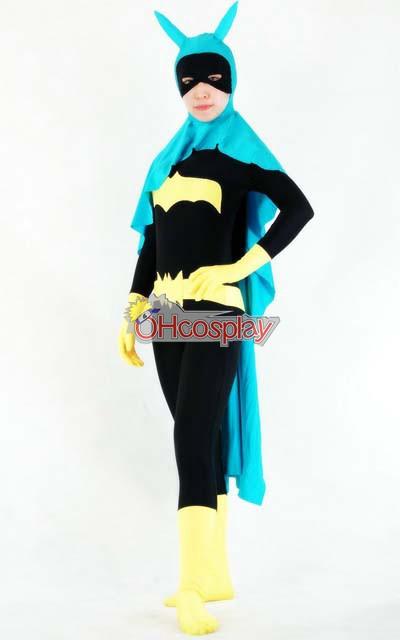 DC Batgirl Casual Wear( Cloak Included) Cosplay Costume