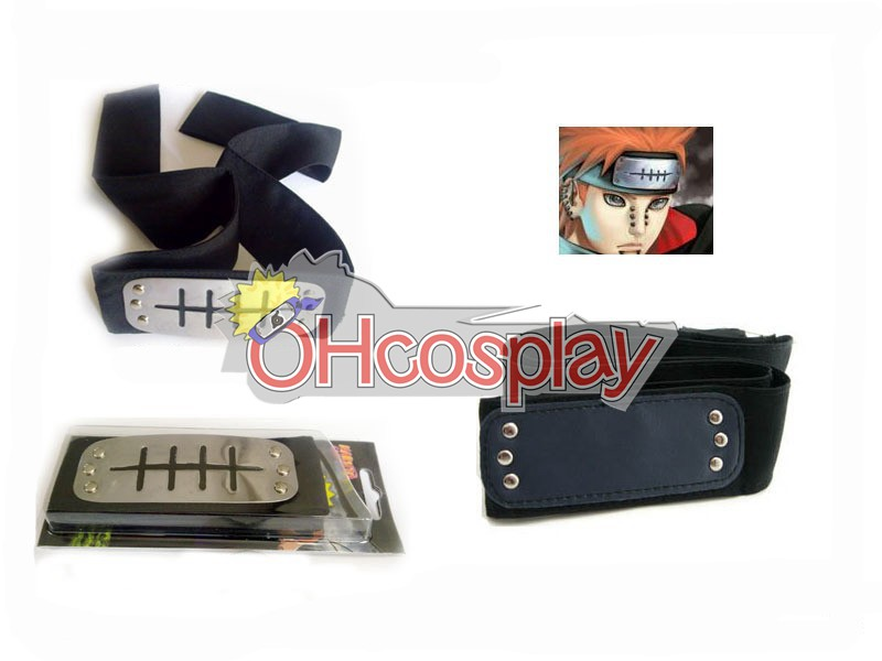 Costumi Carnevale Naruto Cosplay Accessory Hidden Rain HeadBand