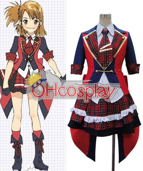 AKB0048 Cosplay Yuko Oshima Cosplay Costume