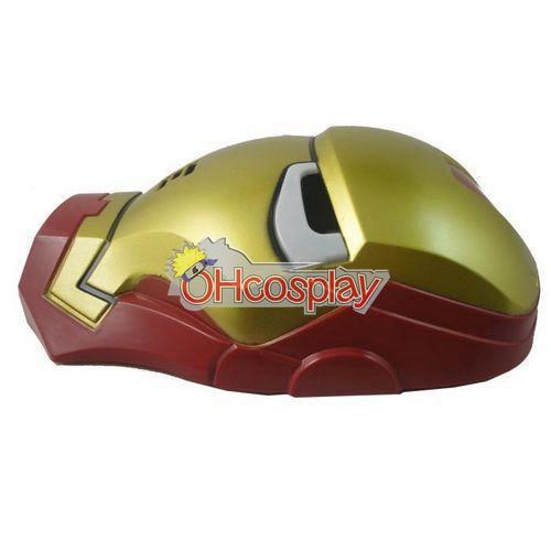 Iron Man udklædning Mask (Light Eyes)